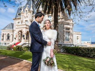 La boda de Nagore y Rubén