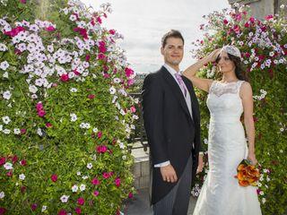 La boda de Sara y Cheren