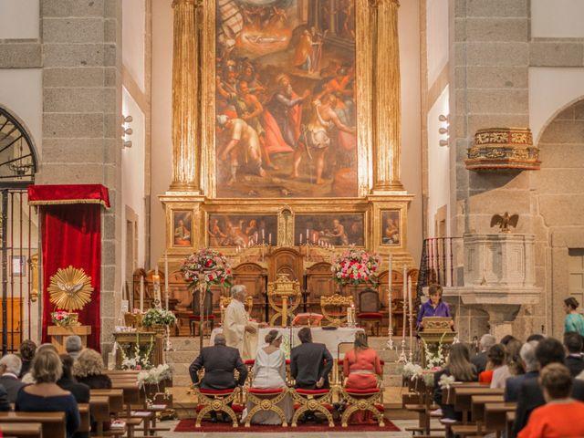 La boda de Javier y Silvia en San Lorenzo De El Escorial, Madrid 14
