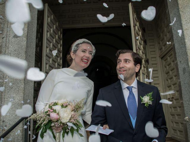 La boda de Javier y Silvia en San Lorenzo De El Escorial, Madrid 2