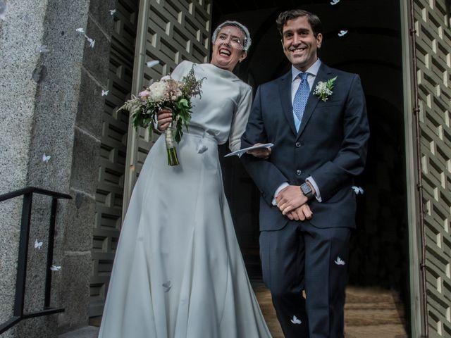 La boda de Javier y Silvia en San Lorenzo De El Escorial, Madrid 16