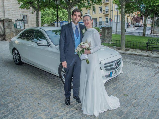 La boda de Javier y Silvia en San Lorenzo De El Escorial, Madrid 19
