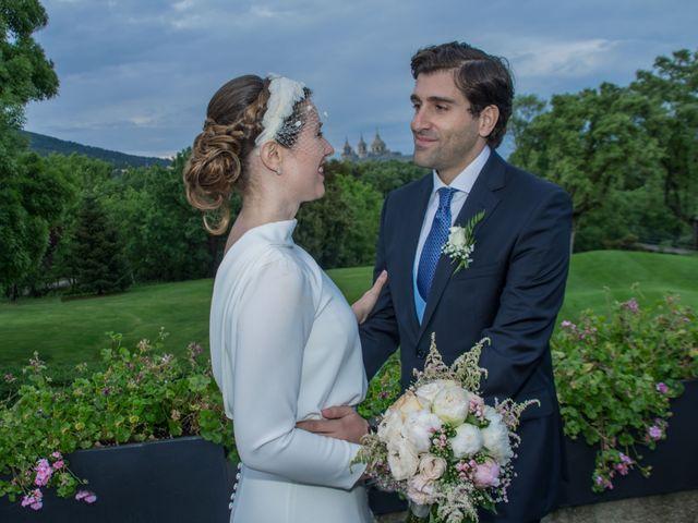 La boda de Javier y Silvia en San Lorenzo De El Escorial, Madrid 22