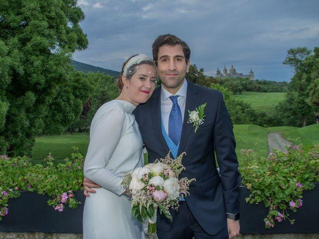La boda de Javier y Silvia en San Lorenzo De El Escorial, Madrid 23