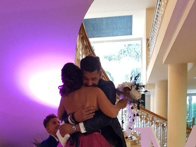 La boda de Mónica Armada Nasarre  y Erick Silva Rodrigues  en La Pineda, Tarragona 4