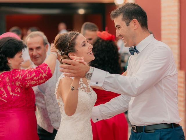 La boda de Pedro y Almudena en Membrilla, Ciudad Real 139