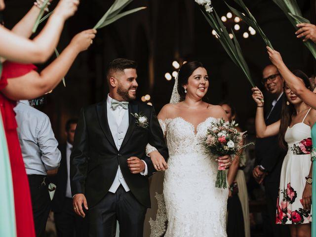 La boda de Nathanael y Evelin en Arucas, Las Palmas 31