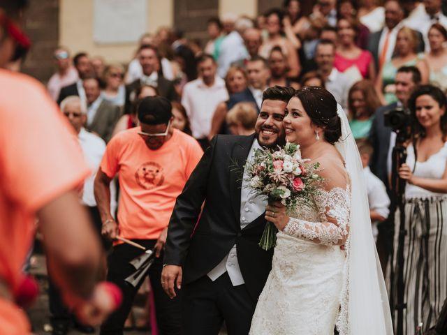 La boda de Nathanael y Evelin en Arucas, Las Palmas 34