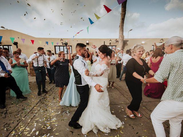 La boda de Nathanael y Evelin en Arucas, Las Palmas 95