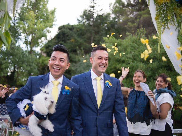 La boda de Marc y Giovanni