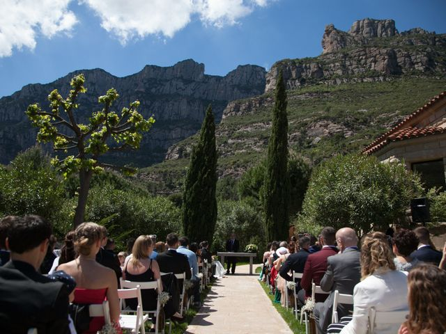 La boda de Daniel y Laura  en Monistrol De Montserrat, Barcelona 8