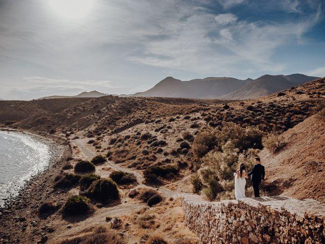 La boda de Patryk y Alba en Almería, Almería 86