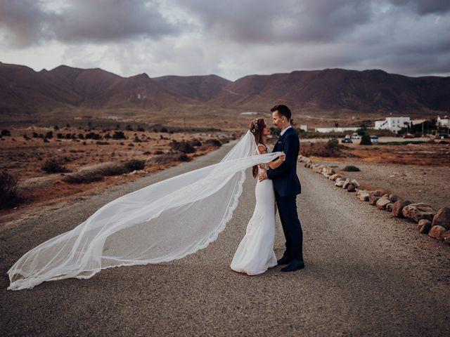 La boda de Patryk y Alba en Almería, Almería 93