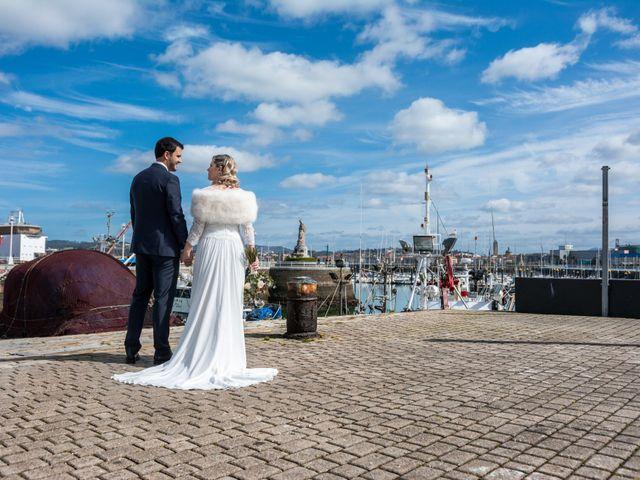 La boda de Rubén y Nagore en Santurtzi, Vizcaya 19