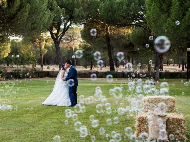 La boda de Carlos y Lorena en Pozal De Gallinas, Valladolid 42