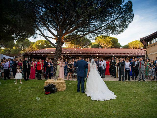 La boda de Carlos y Lorena en Pozal De Gallinas, Valladolid 46