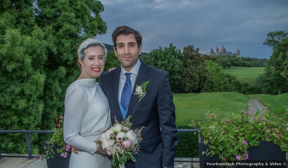 La boda de Javier y Silvia en San Lorenzo De El Escorial, Madrid
