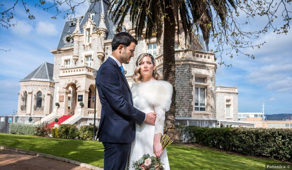La boda de Rubén y Nagore en Santurtzi, Vizcaya