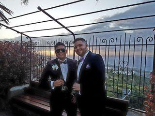 La boda de Francesco y Yefri