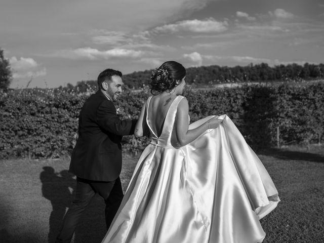 La boda de David y Esther en Sant Ferriol, Girona 54