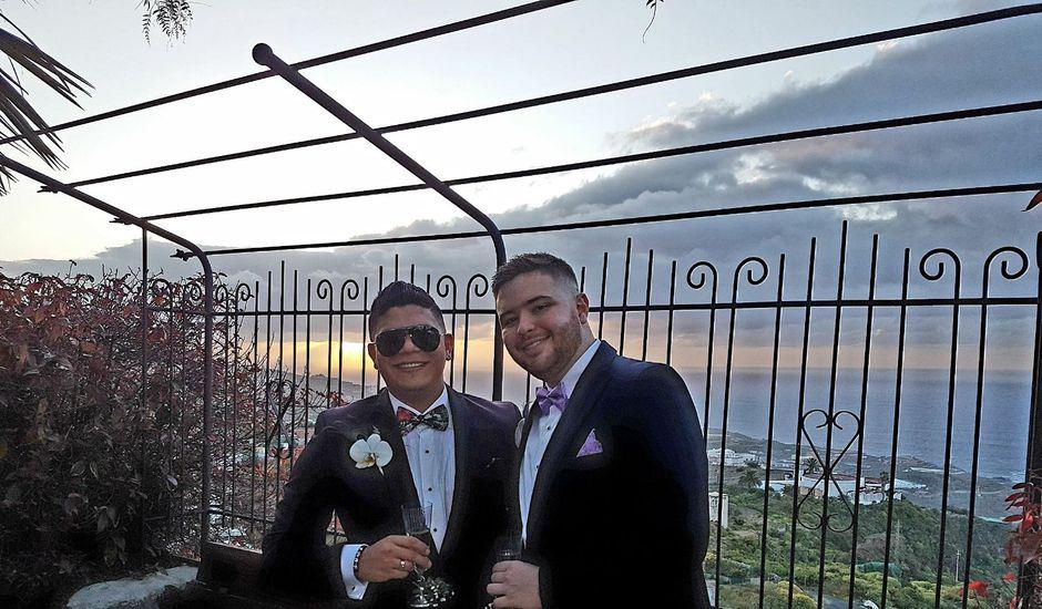 La boda de Yefri y Francesco en San Juan De La Rambla, Santa Cruz de Tenerife