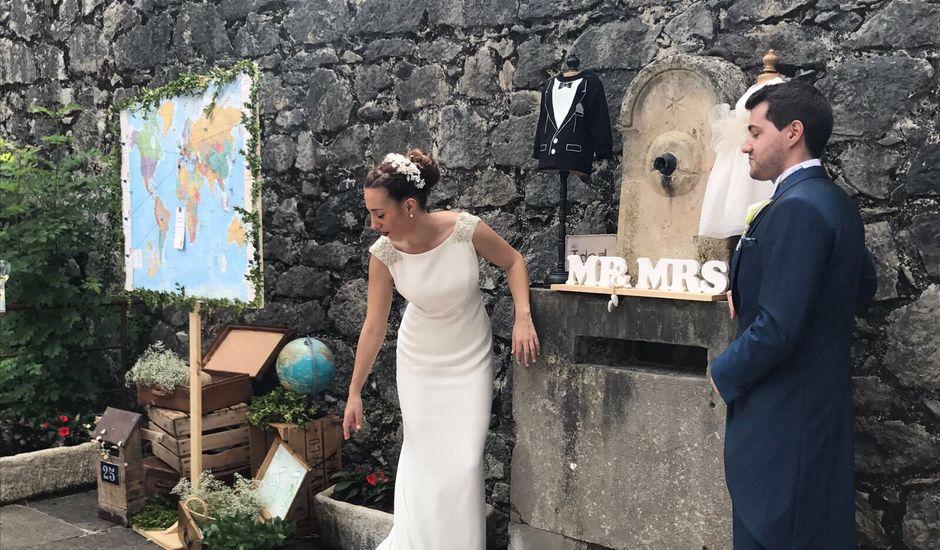 La boda de Jonatan y Cristina en Arteaga, Vizcaya