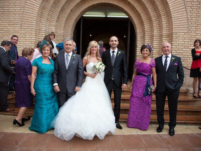 La boda de Sandra y Víctor en Ribaforada, Navarra 7