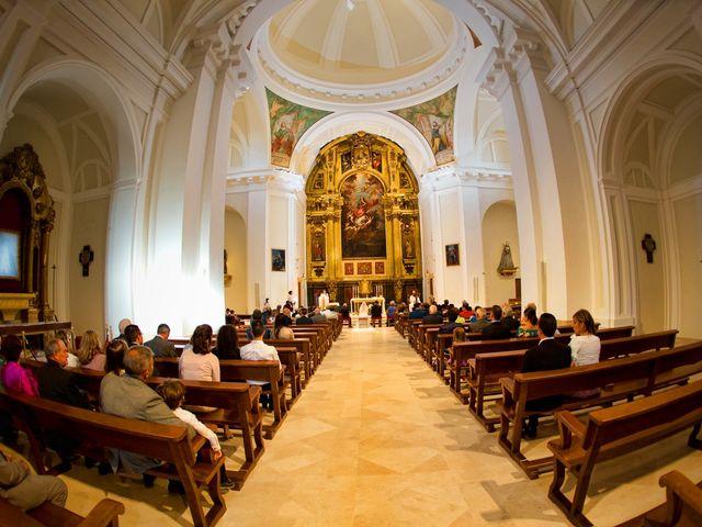 La boda de Mariano y Marta en Aranjuez, Madrid 2