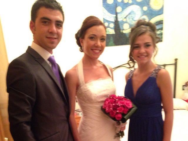 La boda de Sergio y Pilar en Miguel Esteban, Toledo 4