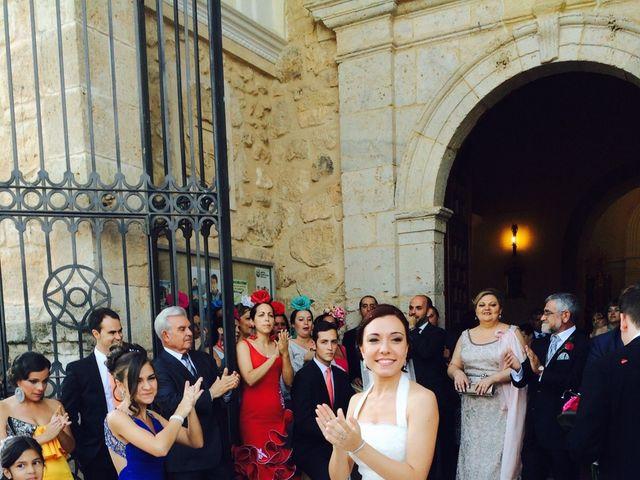 La boda de Sergio y Pilar en Miguel Esteban, Toledo 15
