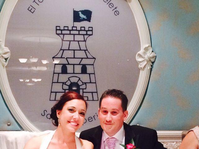 La boda de Sergio y Pilar en Miguel Esteban, Toledo 17