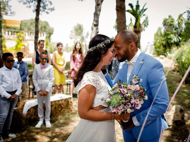 La boda de David y Lissa en Campos, Islas Baleares 34