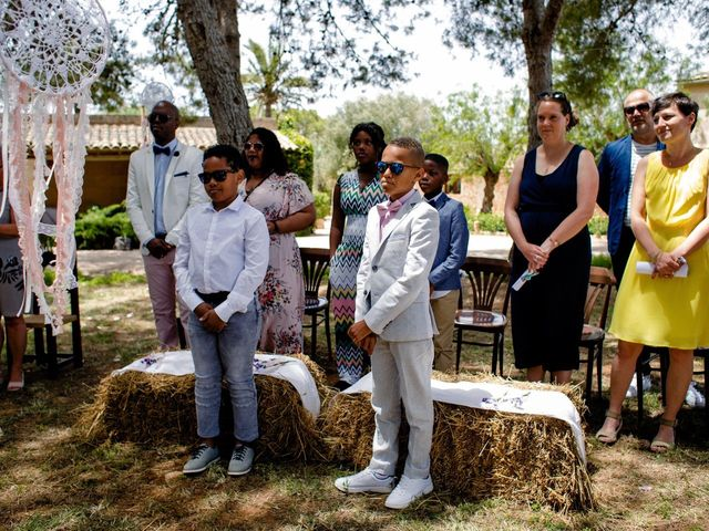 La boda de David y Lissa en Campos, Islas Baleares 36