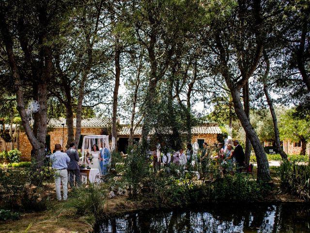 La boda de David y Lissa en Campos, Islas Baleares 44