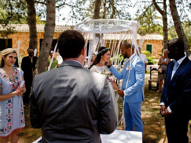 La boda de David y Lissa en Campos, Islas Baleares 46