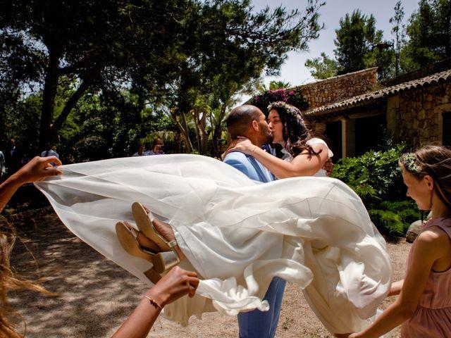 La boda de David y Lissa en Campos, Islas Baleares 1