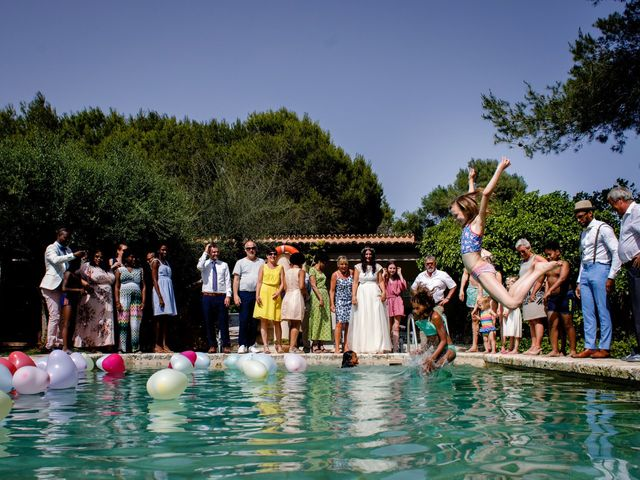 La boda de David y Lissa en Campos, Islas Baleares 75