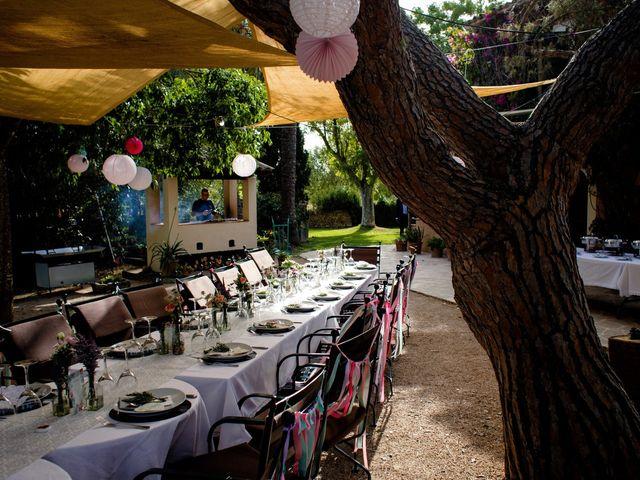 La boda de David y Lissa en Campos, Islas Baleares 95