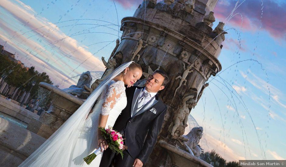 La boda de Mariano y Marta en Aranjuez, Madrid