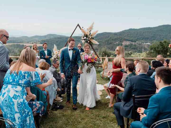 La boda de Sylvia y Ben