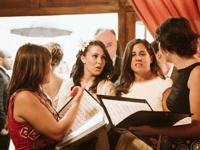 La boda de Víc y Cel en San Juan Mozarrifar, Zaragoza 18