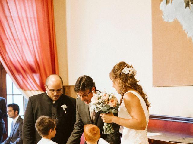 La boda de Víc y Cel en San Juan Mozarrifar, Zaragoza 34
