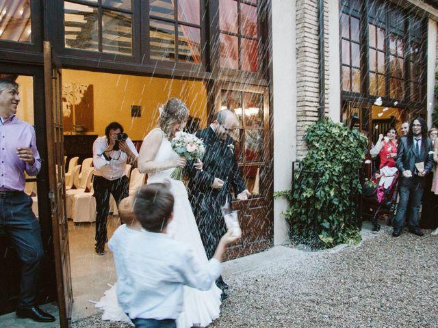 La boda de Víc y Cel en San Juan Mozarrifar, Zaragoza 45