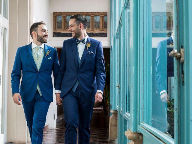 La boda de Gonzalo y Joselu