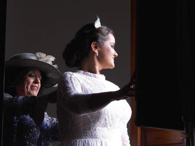 La boda de Ángel y María
