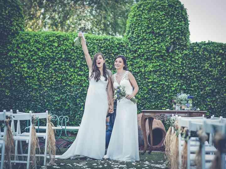 La boda de Nia y Lore