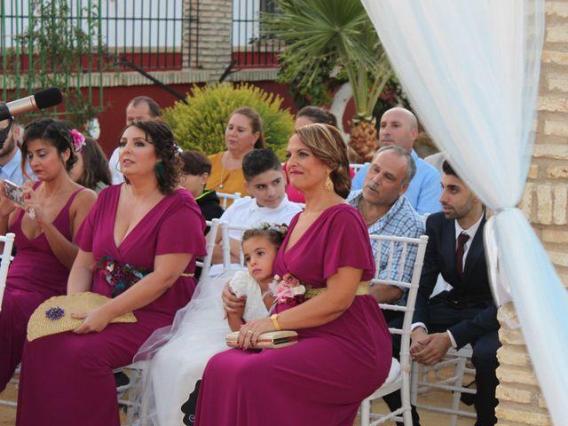 La boda de Jose y Laura en Arahal, Sevilla 14