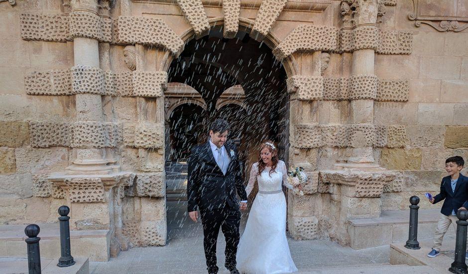 La boda de Ángel y Silvia en Almansa, Albacete