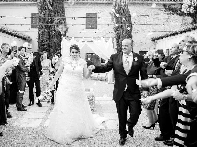 La boda de Julián y Marta en Chinchon, Madrid 23