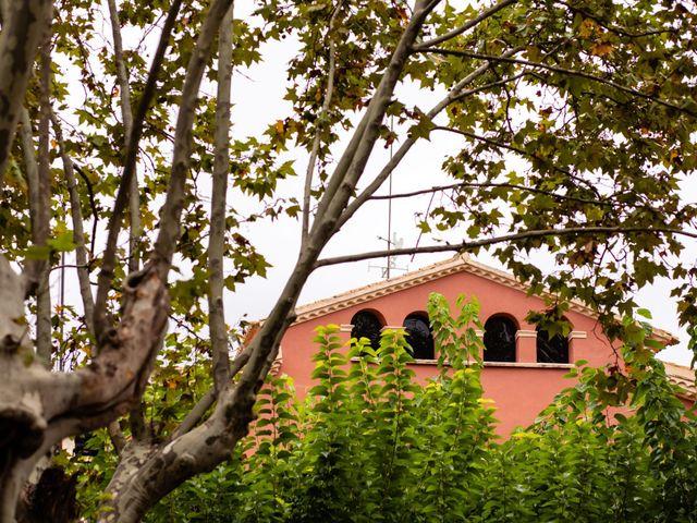 La boda de Carla y Alan en Sant Cugat Sesgarrigues, Barcelona 1